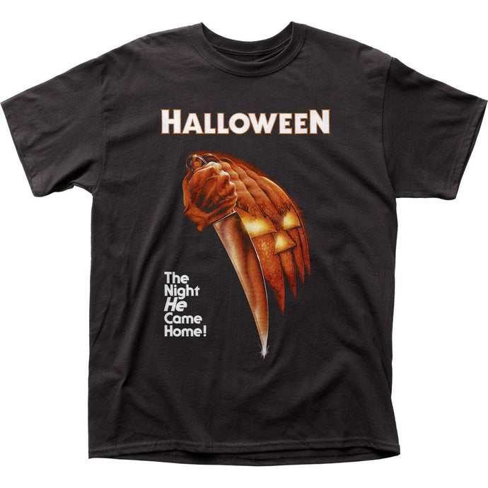 Halloween Night He Came Home Mens T Shirt Black