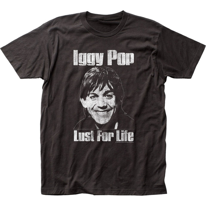 Iggy Pop Lust for Life Mens T Shirt Black