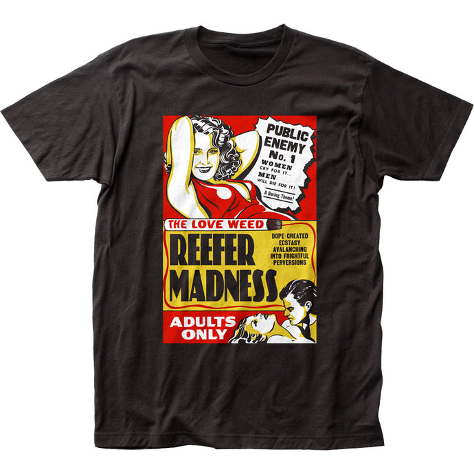 Reefer Madness Mens T Shirt Black