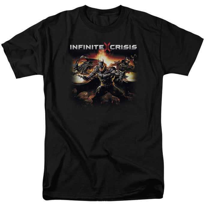 Infinite Crisis Batmen Mens T Shirt Black