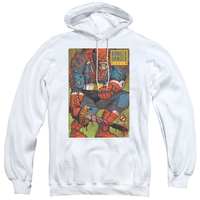 Jay and Silent Bob Ranger Danger Mens Hoodie White