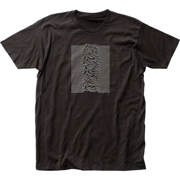 Joy Division Unknown Pleasures Mens T Shirt Black