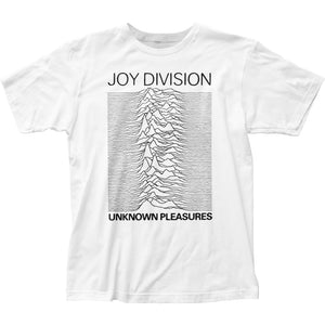Joy Division Unknown Pleasures Mens T Shirt White