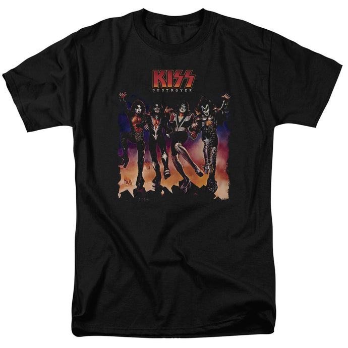 KISS Destroyer Cover Mens T Shirt Black