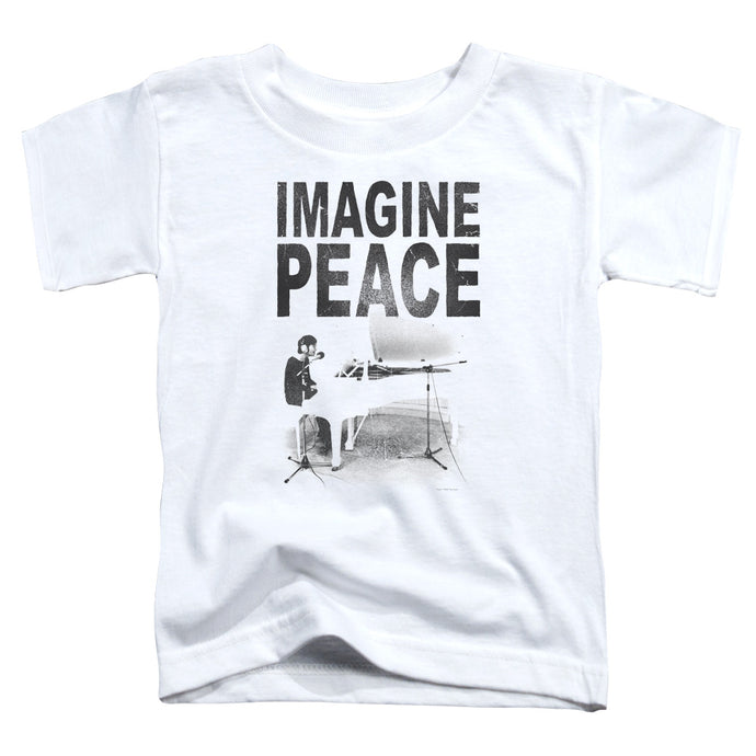 John Lennon Imagine Toddler Kids Youth T Shirt White