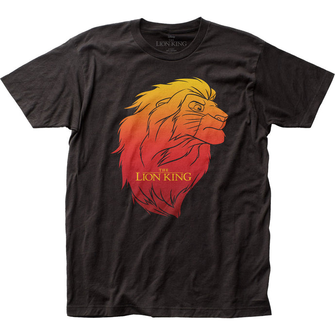 The Lion King Simba Mens T Shirt Black