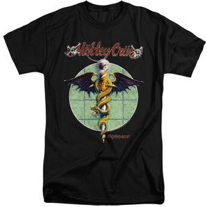 Motley Crue Dr. Feelgood Mens Tall T Shirt Black