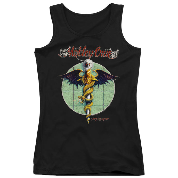 Motley Crue Dr. Feelgood Womens Tank Top Shirt Black