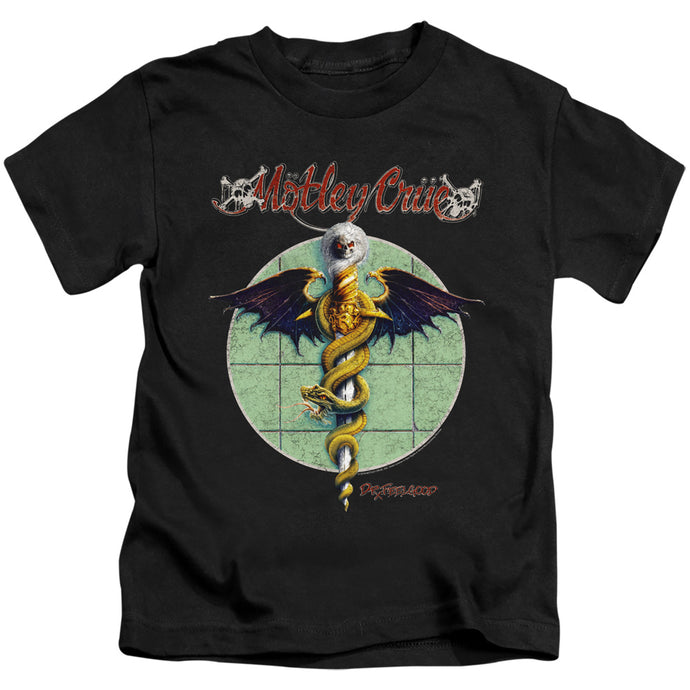 Motley Crue Dr. Feelgood Juvenile Kids Youth T Shirt Black