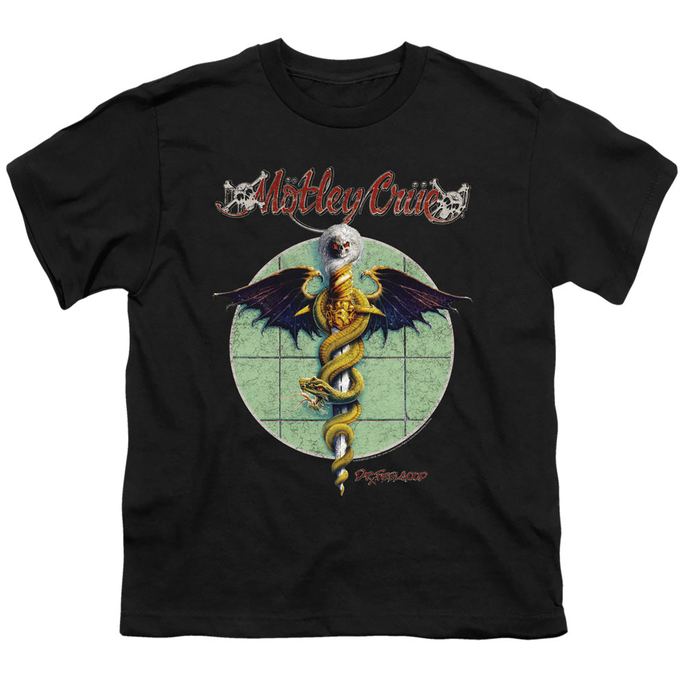 Motley Crue Dr. Feelgood Kids Youth T Shirt Black