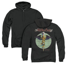 Load image into Gallery viewer, Motley Crue Dr. Feelgood Back Print Zipper Mens Hoodie Black