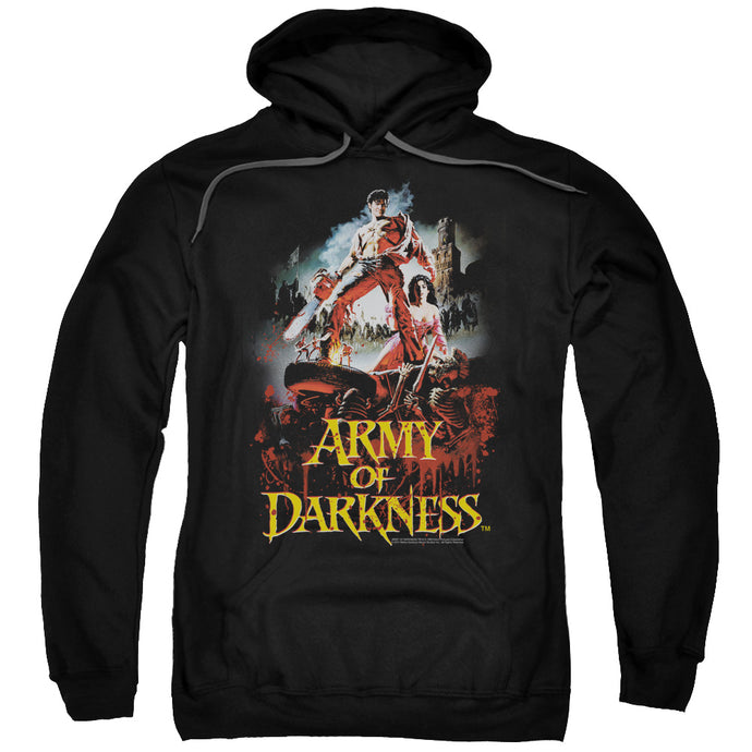 Army Of Darkness Bloody Poster Mens Hoodie Black