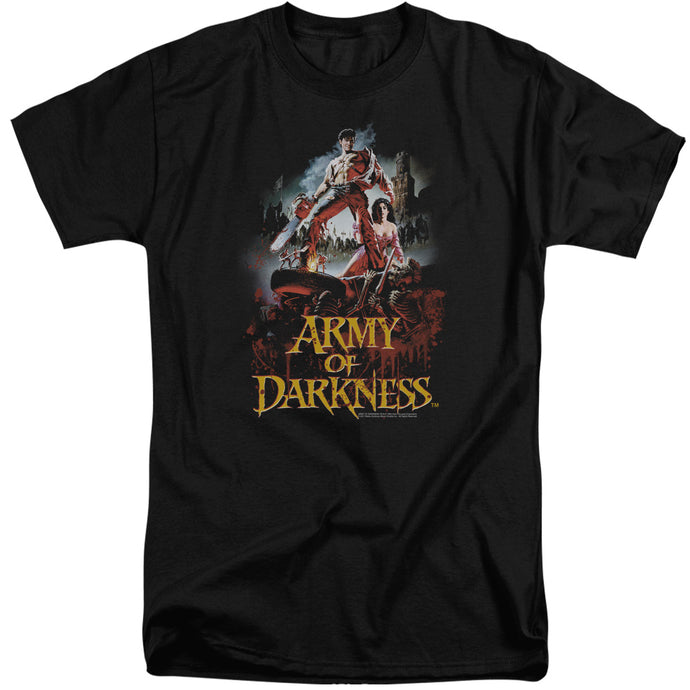 Army Of Darkness Bloody Poster Mens Tall T Shirt Black