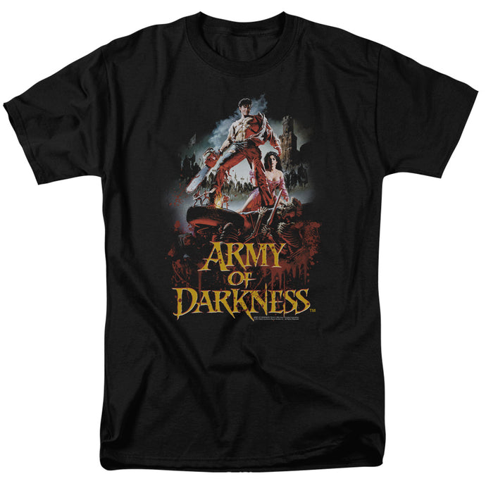 Army Of Darkness Bloody Poster Mens T Shirt Black