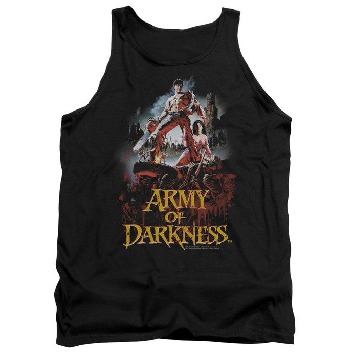 Army Of Darkness Bloody Poster Mens Tank Top Shirt Black