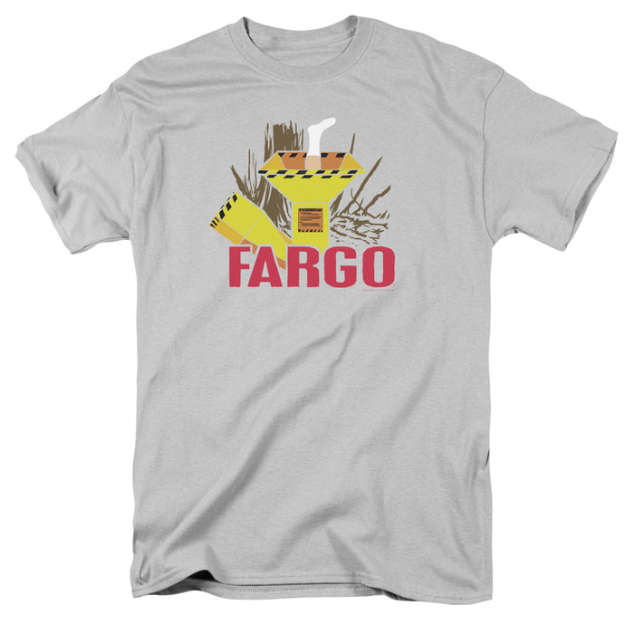 Fargo Woodchipper Mens T Shirt Silver