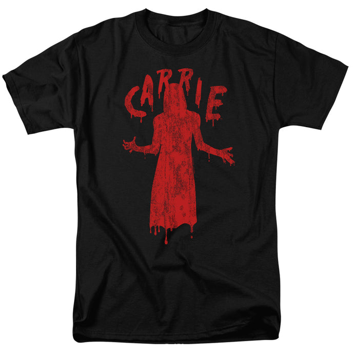 Carrie Silhouette Mens T Shirt Black
