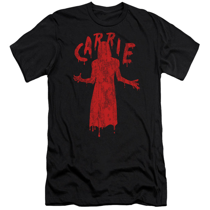 Carrie Silhouette Slim Fit Mens T Shirt Black