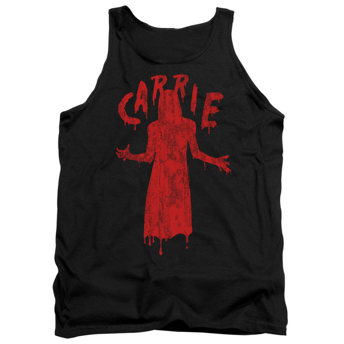 Carrie Silhouette Mens Tank Top Shirt Black