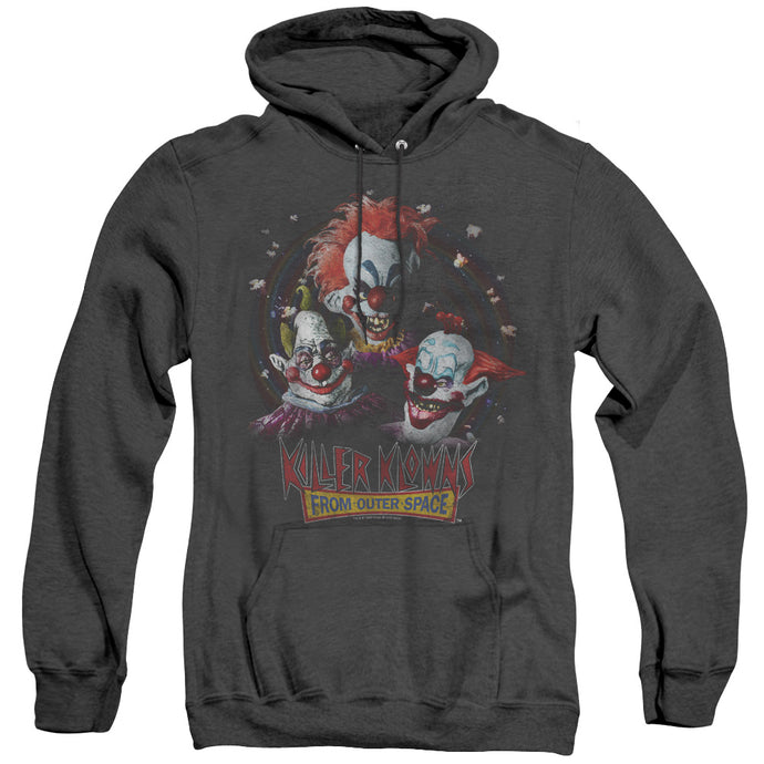 Killer Klowns From Outer Space Killer Klowns Heather Mens Hoodie Black