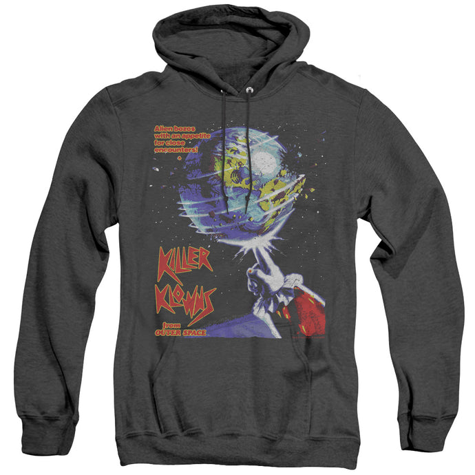 Killer Klowns From Outer Space Invaders Heather Mens Hoodie Black