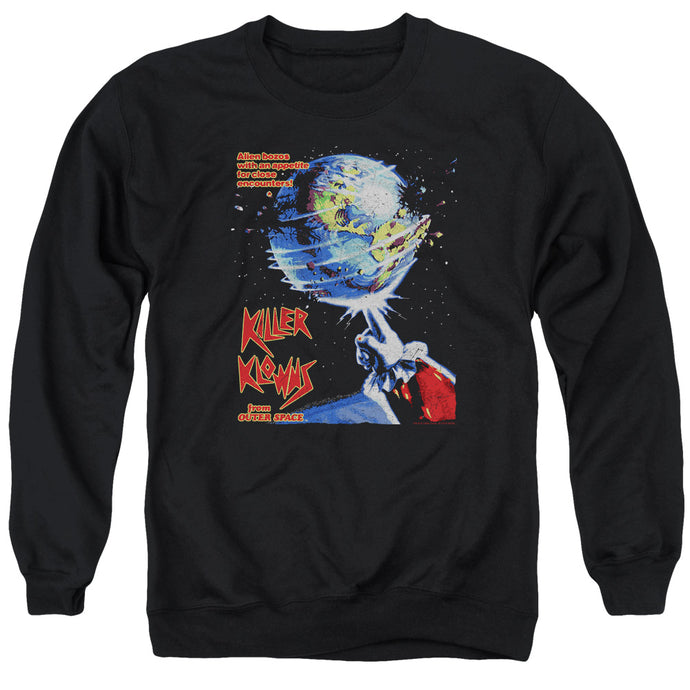 Killer Klowns From Outer Space Invaders Mens Crewneck Sweatshirt Black