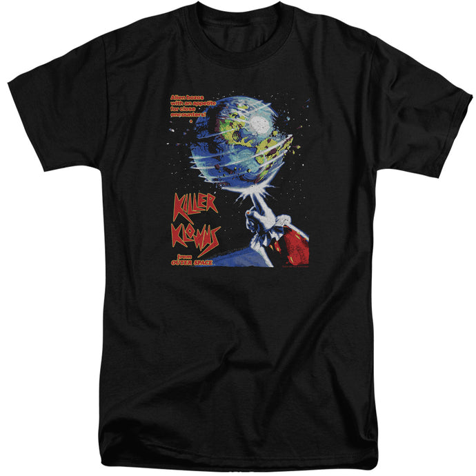 Killer Klowns From Outer Space Invaders Mens Tall T Shirt Black