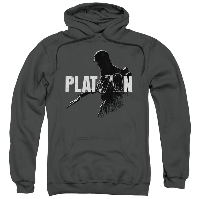 Platoon Shadow Of War Mens Hoodie Charcoal