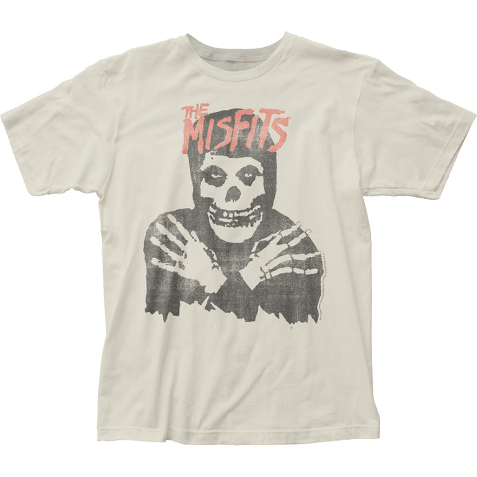 The Misfits Classic Skull Mens T Shirt Vintage White