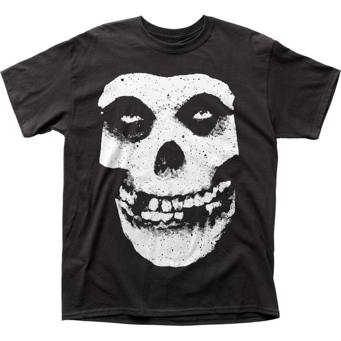 The Misfits Skull & Logo Mens T Shirt Black