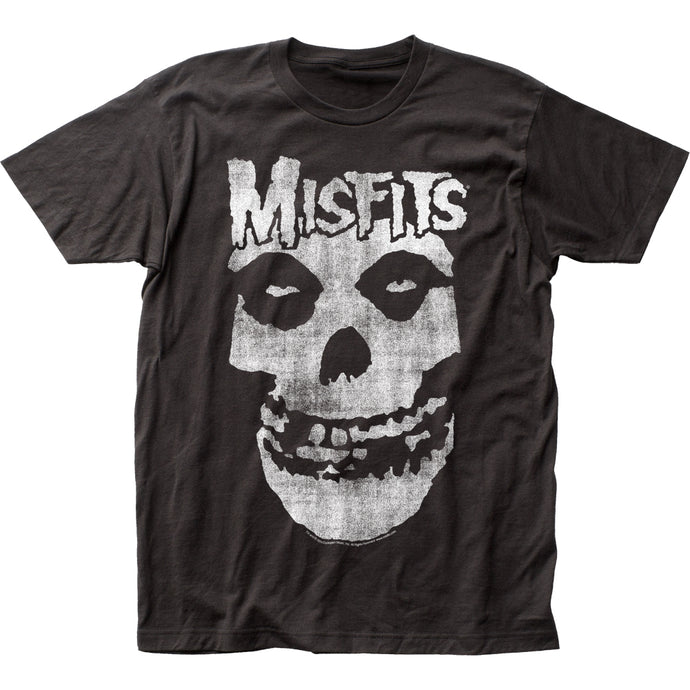 The Misfits Distressed Skull Mens T Shirt Black