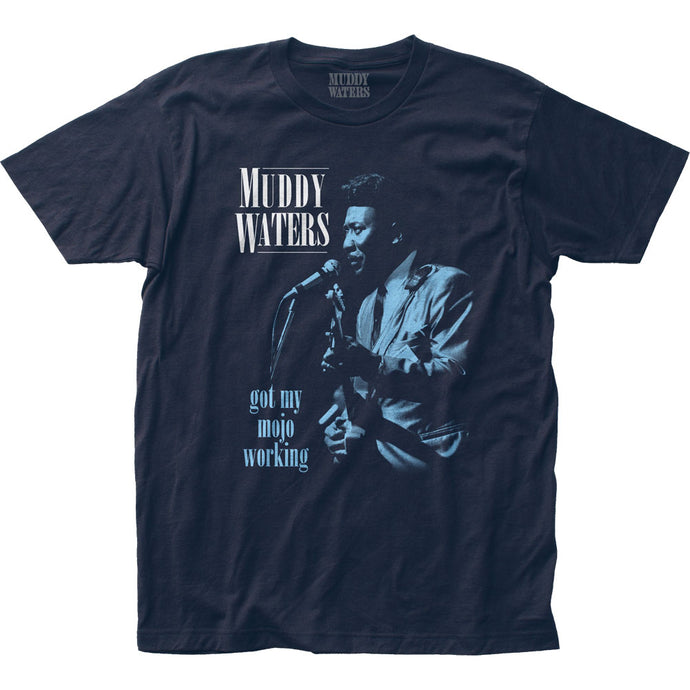 Muddy Waters Got My Mojo Working Mens T Shirt Navy