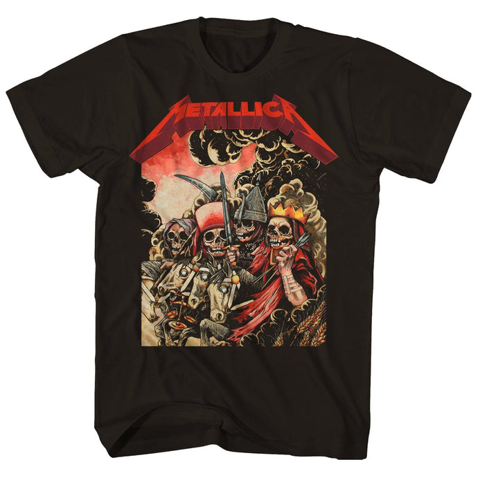 Metallica The Four Horseman Mens T Shirt Black