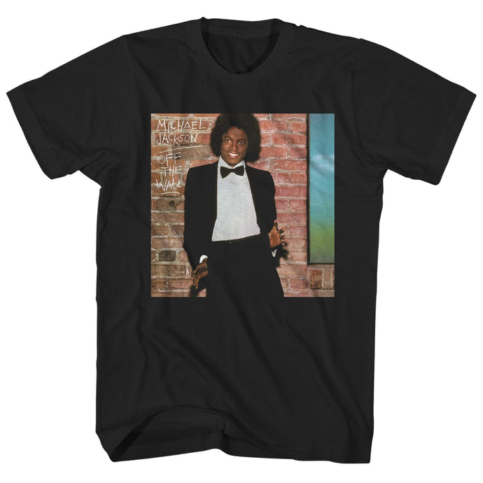 Michael Jackson Off The Wall Mens T Shirt Black
