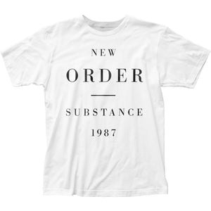 New Order Substance 1987 Mens T Shirt White