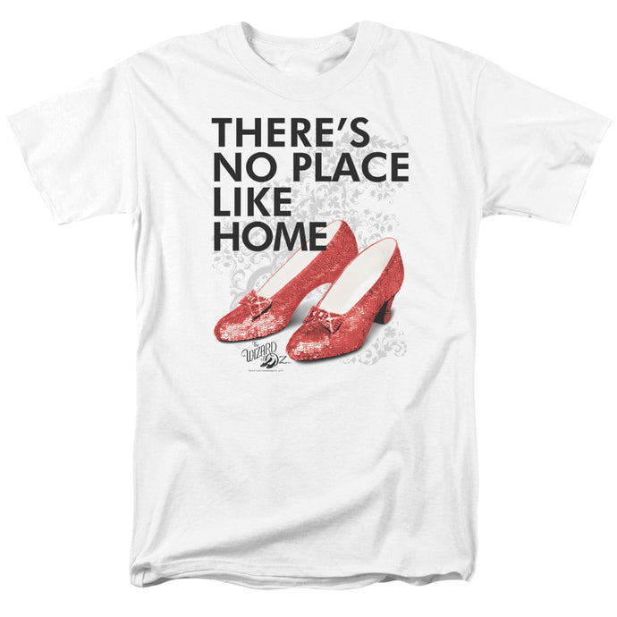 Wizard Of Oz No Place Like Home Mens T Shirt White