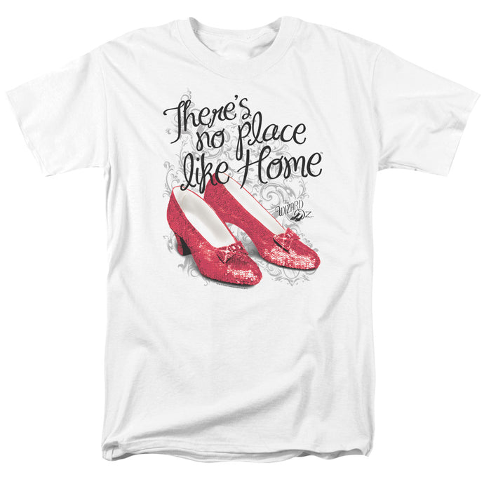Wizard Of Oz Ruby Slippers Mens T Shirt White