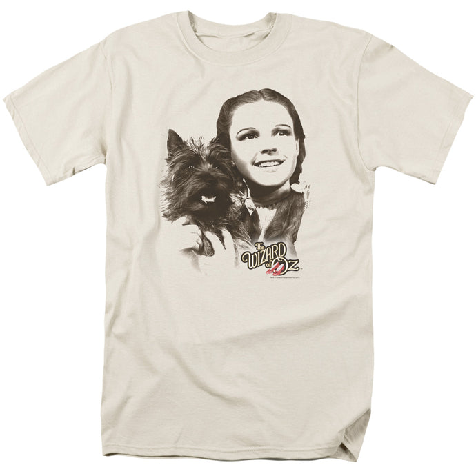 Wizard Of Oz Dorothy & Toto Mens T Shirt Cream