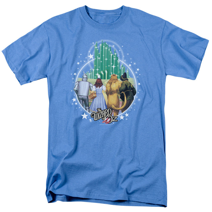 Wizard Of Oz Emerald City Mens T Shirt Carolina Blue