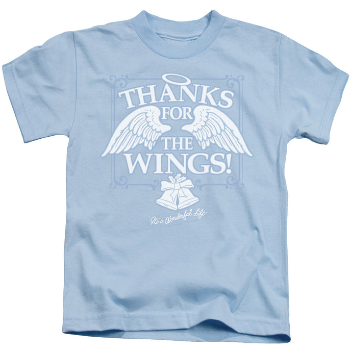 Its A Wonderful Life Dear George Juvenile Kids Youth T Shirt Light Blue