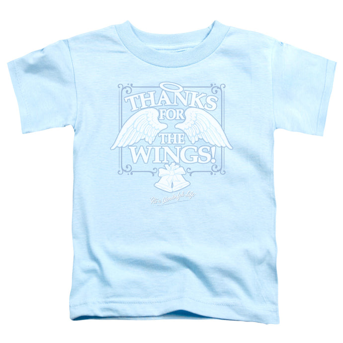 Its A Wonderful Life Dear George Toddler Kids Youth T Shirt Light Blue