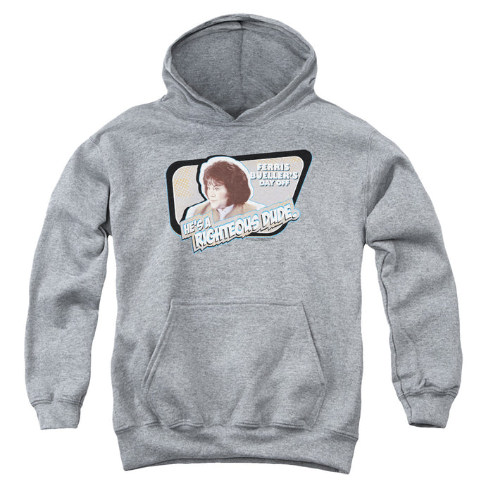Ferris Buellers Day Off Grace Kids Youth Hoodie Heather