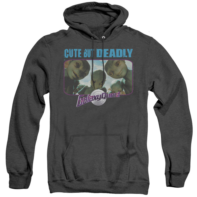 Galaxy Quest Cute But Deadly Heather Mens Hoodie Black