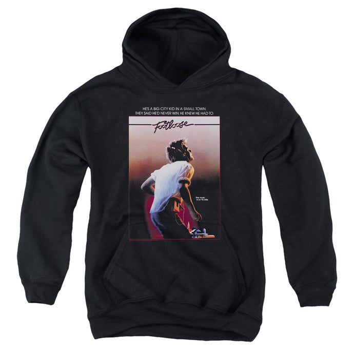 Footloose Poster Kids Youth Hoodie Black