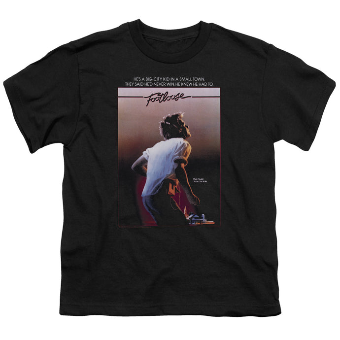 Footloose Poster Kids Youth T Shirt Black