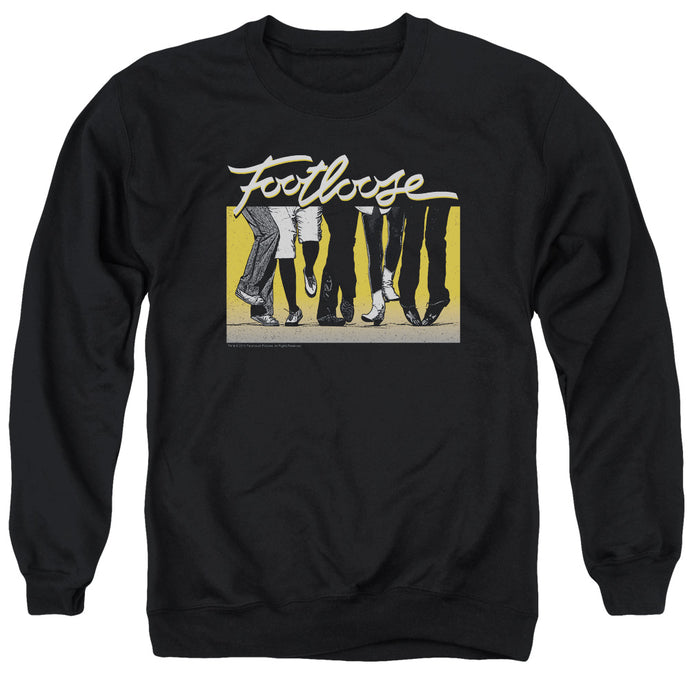 Footloose Dance Party Mens Crewneck Sweatshirt Black