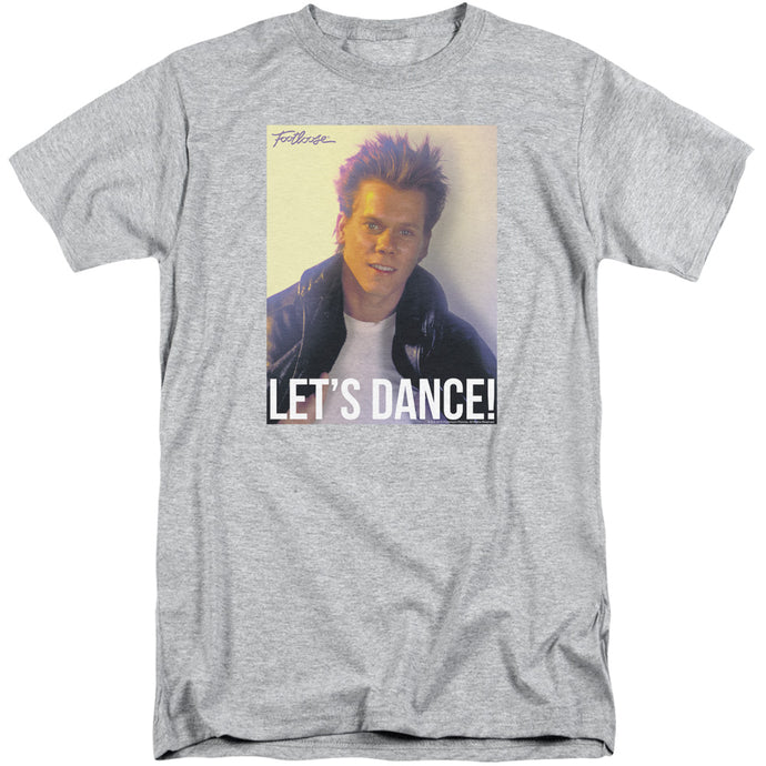 Footloose Lets Dance Mens Tall T Shirt Athletic Heather