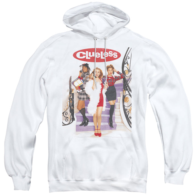 Clueless Clueless Poster Mens Hoodie White