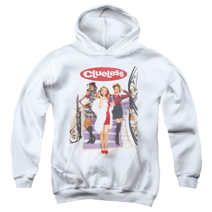Clueless Clueless Poster Kids Youth Hoodie White