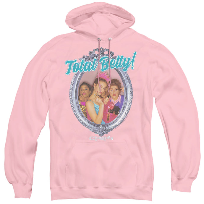 Clueless Total Betty Mens Hoodie Pink